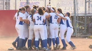 Highlights: Southington 7, NFA 6 in Class LL softball final