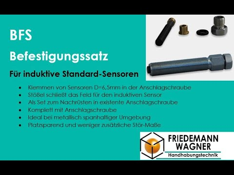 Befestigungssatz BFS und Anschlagschraube ASL