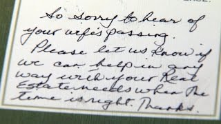 B.C. realtors give widowed dad condolence card -- with offer to sell house
