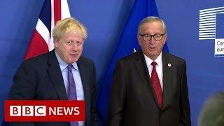 Brexit: Boris Johnson agrees new Brexit deal with EU - BBC News
