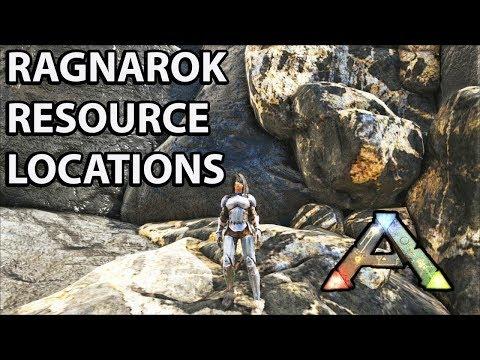Ark Ragnarok : The best areas to farm Crystal - смотреть