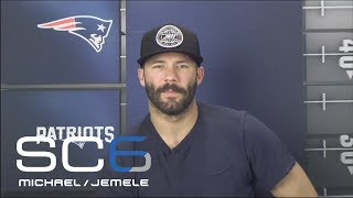 Julian Edelman shares updates on recovering from torn ACL | SC6 | ESPN