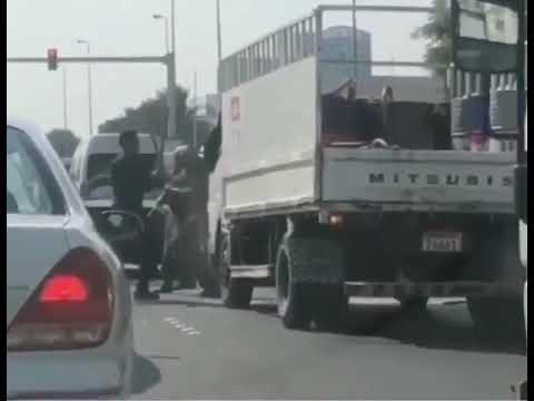 فيديو .. القبض على آسيويين تورطا في مشاجرة عنيفة بالبحرين
