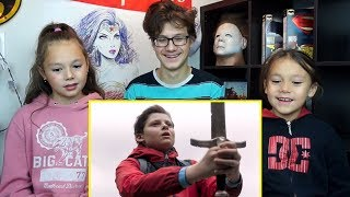 THE KID WHO WOULD BE KING Official Trailer  REACTION