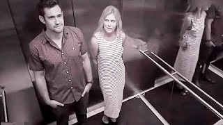 13 Weird and Funny Elevator Moments Captured on Camera