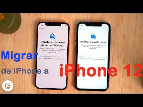 pasar datos del iphone antiguo al iphone 12