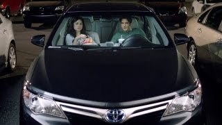 Tyler Posey et Crystal Reed: pub Toyota