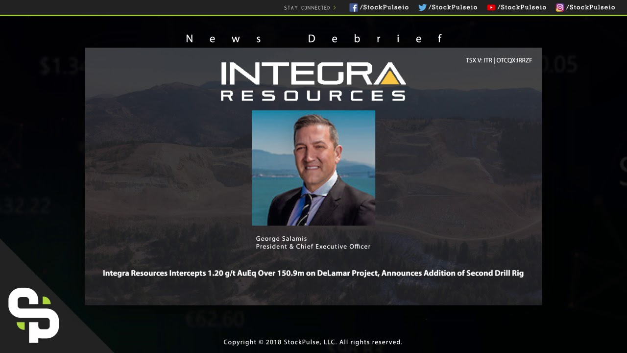 Integra Resources CEO Debriefs Drill Intercept on DeLamar Project