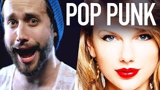 Gambar cover Taylor Swift - 22 - POP PUNK COVER (Jonathan Young ft. Travis Carte)