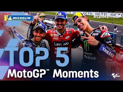 MotoGP 2021 第14戦サンマリノ 決勝レースのハイライト動画