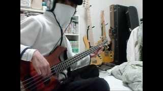 Acid Black Cherry 蝶のBassを弾いてみた。
