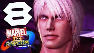Marvel Vs Capcom Infinite Story Part 8 Dante Devils Never Cry