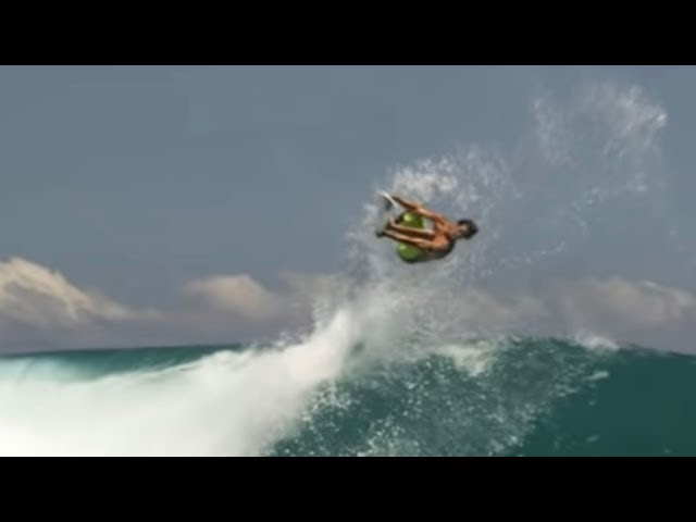 Jordy Smith Rodeo Flips Surfboard