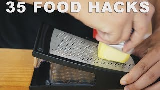 35 AMAZING COOKING HACKS