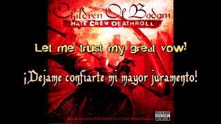 Children Of Bodom - Triple Corpse Hammerblow [Sub Español - Lyrics Video]