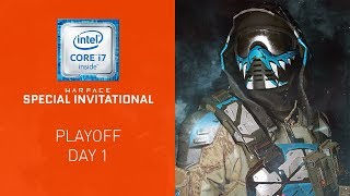 Warface Special Invitational: Playoff Day 1