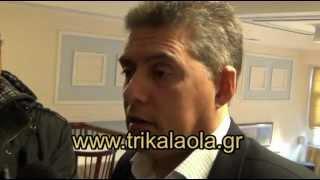 Ο κ. Κώστας Αγοραστός μιλάει για τον περιφερειακό δρόμο στο Κηπάκι 21-2-13