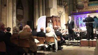 Jonathan Ansell and Faryl Smith sing All I Ask of You at Rochester Cathedral