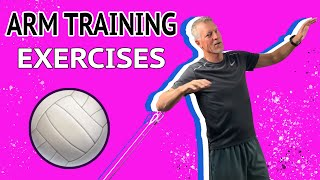 Teaching & Training A Powerful Volleyball Arm Swing (Whip)