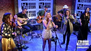 """Video thumbnail of """"The Highwomen Cover """"The Chain"""" in Howard Stern's Studio"""""""