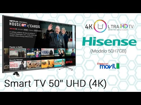 Hisense Smart TV 4K 50 Pulgadas - Unboxing y Análisis