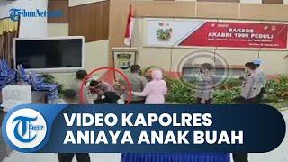 Viral Video Kapolres Nunukan Diduga Aniaya Anggotanya karena Emosi, Kini Dinonaktifkan dari Jabatan