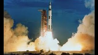 Apollo 11 Saturn V Launch First man on the moon Armstrong & Aldrin Roy Dawson Video