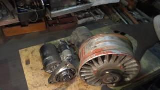 Техобслуживание - ремонт самодельного трактора.Анонс.