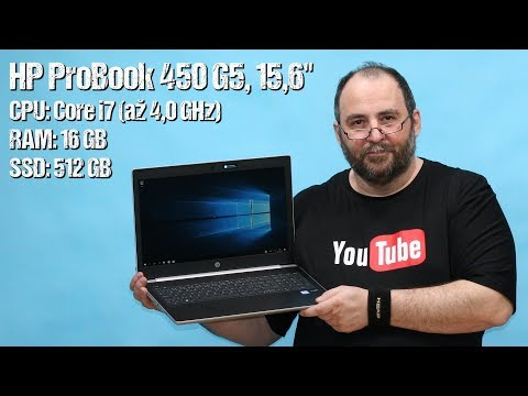 HP ProBook 450 G5 (2XZ33ES#BCM) ~ unboxing ~ Česky ᴴᴰ
