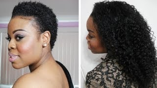 How I Grew My Natural Hair | Length Retention - SimplYounique
