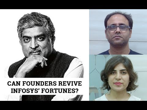 Will founder's re-entry help revive Infosys?