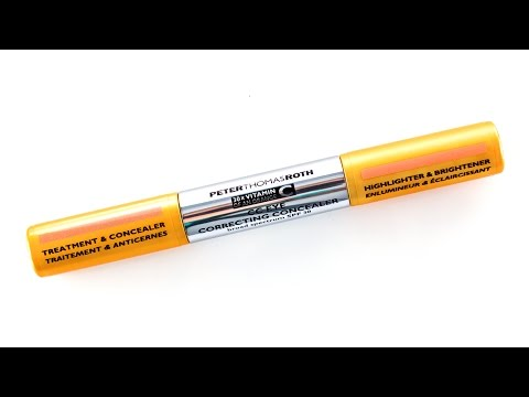 Beautypedia Reviews: Peter Thomas Roth CC Eye Concealer SPF 30