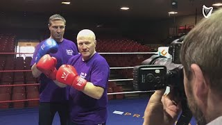 "VIDEO: ""Help Us Fight Cystic Fibrosis"" - Ken Egan and Michael Carruth on upcoming boxing challenge"