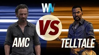 AMC's The Walking Dead VS Telltale' s The Walking Dead