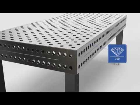 Презентация сварочно-сборочного стола Professional Extreme