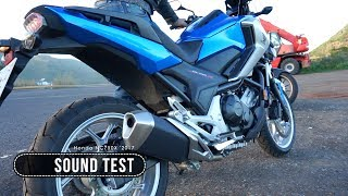 Honda NC750X Sound Of The Stock Exhaust