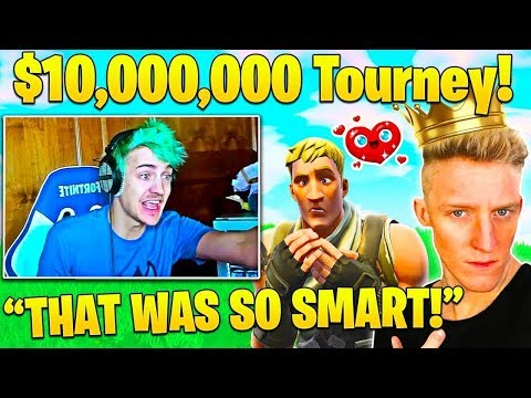 Ninja HAPPY for Tfue when he WINS Fall Skirmish! $10,000,000 Tourney Highlights