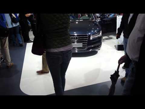 Dynamische Blinker im Audi A8 (2013)