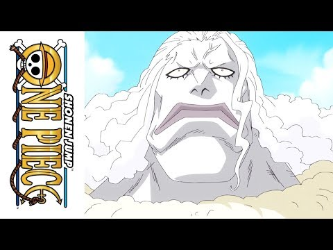 One Piece - Official Clip -  Trapped by the New Fishman Pirates