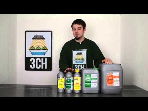3CH Guide to the Hesi Nutrient Solution Range
