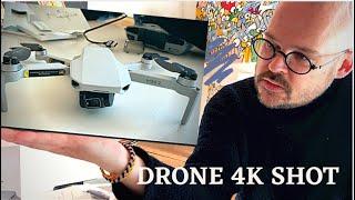 ????????????????- DJI mini    4K WiFi FPV Drone Unboxing & Flight Test in Denmark    Rona Kjerumgaard