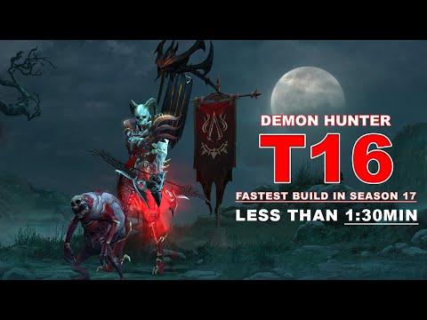 Diablo 3 Best Demon Hunter Build: Speed and GR 121+