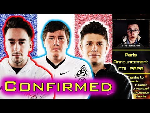 PARIS Confirm FULL Roster!!    CDL Rostermania News & Rumors    CoD: MW
