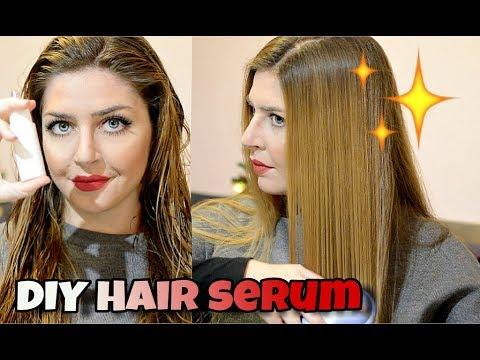 SIERO bifasico RISTRUTTURANTE capelli fai da te | idrata, nutre e protegge!