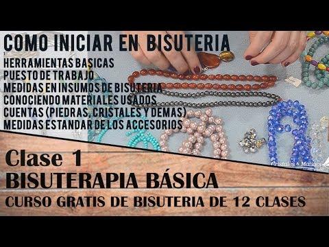 1 CLASE - INICIO A LA BISUTERIA