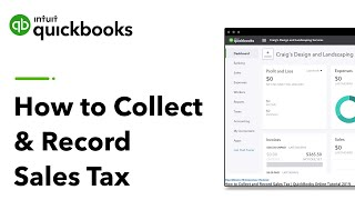 How to Collect and Record Sales Tax