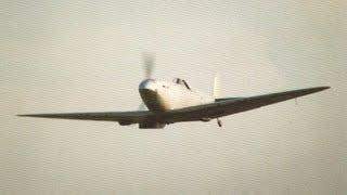 Spitfire crash