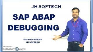 SAP ABAP Debugging Part 1