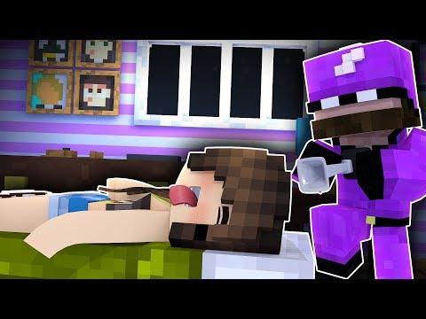 Minecraft Friends - SLEEP OVER !? (Minecraft Roleplay)