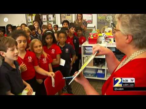 Fulton Science Academy Private School Channel 2 News Mock Election